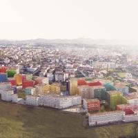 地拉那mangalem 21建筑规划方案(设计:OMA)