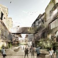 伊斯特尔生态邻居建筑竞赛方案(设计:jean nouvel)
