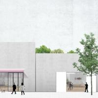 蒂姆·范莱画廊建筑竞赛方案(设计:office)