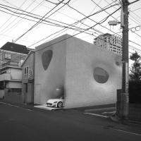 东京毛茸茸房子(设计:shiro studio)