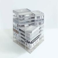 巴黎23号住宅联合空间竞赛方案(设计:muoto)