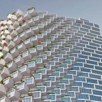 基多堆叠盒子公寓建筑竞赛方案(设计:BIG)