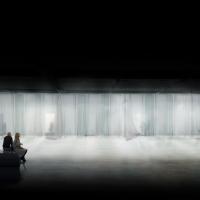 法兰克福挪威馆书展空间竞赛方案(设计:sanden+hodnekvam)