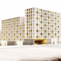 巴塞罗拉模块建筑viviendas en l'illa glòries (设计:sv60)