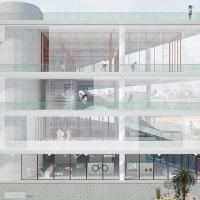 波尔多体育中心竞赛方案(设计:np2f)