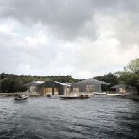 温德米尔码头博物馆建筑竞赛方案(设计:carmody groarke)
