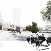 巴塞罗那CASAL DE JOVES PROSPERITAT建筑竞赛(设计:twobo . poch)