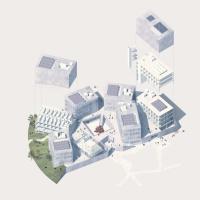 赫塔费大学校园重建建筑竞赛方案(设计:afab)