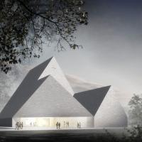 上维耶斯卡新教堂建筑竞赛一等奖方案(设计:k2s)