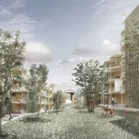 圣加仑HOLTS居住项目竞赛一等奖方案(设计:burkhalter sumi)