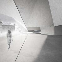 圣莫里茨交通枢纽建筑竞赛方案(设计:gregorio lioce)