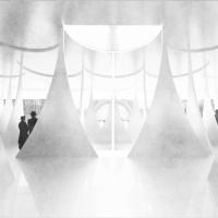 巴黎艺术展厅竞赛方案(设计:F.A.T)