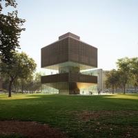 坦佩雷美术馆扩建竞赛方案(设计:aarti ollila ristola)