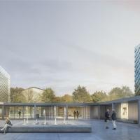 伊万卡尼奥里卡新文化行政中心建筑竞赛方案(设计:ETB)