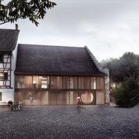 格赖芬塞兰登伯豪斯剧院建筑竞赛方案(设计:karamuk kuo)