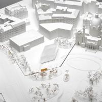 维也纳卡尔广场博物馆扩建竞赛方案(设计:kuehn malvezzi)