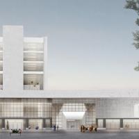布鲁塞尔卡纳尔文化中心建筑竞赛方案(设计:noAarchitecten)