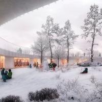 艾多尔幼儿园建筑竞赛方案(设计:cobe)