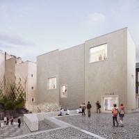 克莱蒙费朗NDDP教堂重建竞赛方案(设计:linazasoro&sánchez)