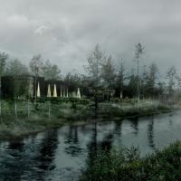 挪威的森林芬兰博物馆竞赛方案(设计:sanden+hodnekvam )