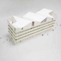 史普莱登巴赫市政厅建筑竞赛方案(设计:karamuk kuo)