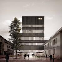 巴塞尔FHNW建筑竞赛一等奖方案(设计:E2A)