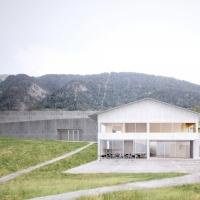 里德-布里格学校及市政厅建筑竞赛方案(设计:oblique)