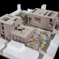 圣保罗nidificação学校图书馆建筑(设计:charlotte ferreux)