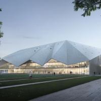 海德堡新会议中心建筑竞赛方案(设计:mangado)