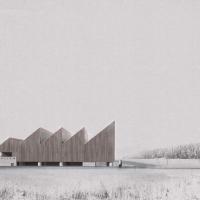挪威svullrya市skogfinsk博物馆竞赛方案(设计:büf architecture)
