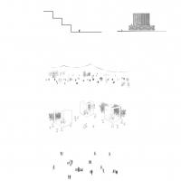里尔新法院建筑竞赛方案(设计:藤本壮介)