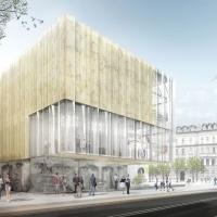 卢布尔雅那市政厅剧院更新竞赛(设计:dekleva gregorič)