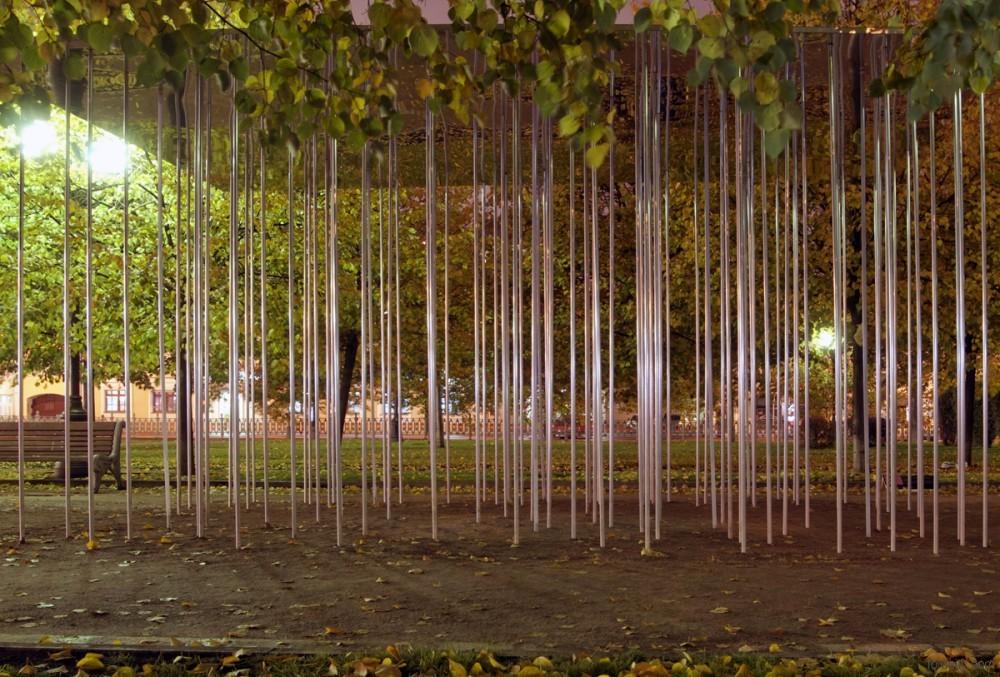 管亭/关键词:概念亭廊发光管细丝结构 创意设计...