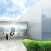 """The Spiral Mirror"" for West Kowloon Arts Pavillion(by:Rogers Partners)"