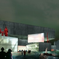shortlisted proposal for Moscow's NCCA competition(WAIArchitecture Thinktank)